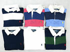 Polo Ralph Lauren Men Long Sleeve Rugby Shirt Stripe Custom Fit All Sizes New