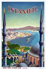 Vintage Istanbul Travel Poster A3/A2/A1 Print