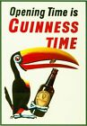 Vintage Guinness Advertisement Toucan Poster A3/A2/A1 Print