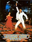 Vintage Saturday Night Fever Movie Poster A3/A2/A1 Print