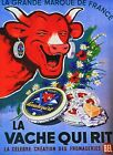 Vintage French Laughing Cow Cheese Advertisement  Poster  A3/A2/A1 Print