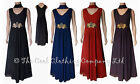 LADIES STUNNING LONG MAXI DRESS (GIGI) FULLY LINED SIZE 16, 18, 20, 22, 24..