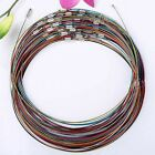 """50x Lots Cable Steel Wire Necklace Charms Chokers Cord Craft DIY 18""""L Wholesale"""