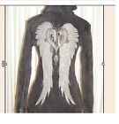 COOL THERMAL MINERAL WSH HOODIE WITH ANGEL WINGS, FLEUR, STONES NWOT