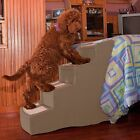 Pet Gear Easy Step IV 4 Step Dog Cat Furniture Bed Ramp Stairs Chocolate Tan