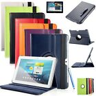 10.1 inch tablet Rotating PU Leather Case Samsung Galaxy Tab2 P5100 / P5110 / P5113