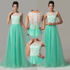 2015 New Women Formal WEDDING Party Bridesmaid Gown Evening Prom Long Ball Dress