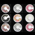 Nail Art Rhinestones Gems Beads Stones Wheel Nail Deco Taiwan Nail Art Tips