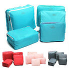 5PCS Waterproof Clothes Storage Bags Packing Cube Travel Luggage JNLA