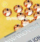 GENUINE Swarovski Light Peach (362) Iron On glass Flatback Hotfix Rhinestone Gem