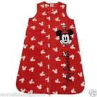 New Disney Minnie Mouse baby red zip up fleece blanket sleeper supersoft