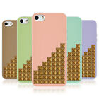 HEAD CASE PASTEL STUDS TPU REAR CASE COVER FOR APPLE iPHONE 5S