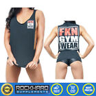 FKN ORIGINAL GANGSTA TANK TEE FOR GIRLS GIRLS GYM WEAR FKN GIRLS TEE