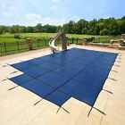 18x36 MESH, Winter SAFETY POOL COVER for INGROUND POOL, 15 Yr WARRANTY