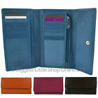 NEW Ladies Medium LEATHER Tri-Fold PURSE/WALLET by MALA Classic Collection Gift