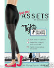 Spanx Assets by Sara Blakely Ankle-Length Shaping Tights 849 - Black