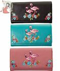 BANNED artificial leather FLAMINGO wallet PURSE