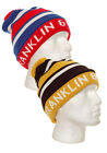 Franklin & Marshall Bobble hat | CPUA9019CON | Black / Red