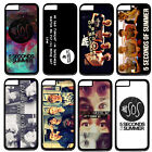 "Pop Band 5SOS Handsome Boys Hard Plastic Case Cover For Apple 4.7"" iPhone 6"