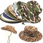 Sun Cap Bucket Hat Boonie Casual Hunting Fishing Camping Outdoor Summer Cotton