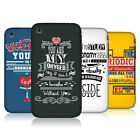 HEAD CASE SCIENTIFIC PICK-UP LINES PROTECTIVE COVER FOR APPLE iPHONE 3GS