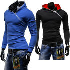 Fashion New Men Slim Pullover Hoodies Hooded Sweart Sport Jacket Coat Loungewear