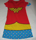 New Wonder Woman nightshirt sleep shirt with cape Juniors size S-XXL