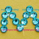 GENUINE Swarovski Light Turquoise ( 263 ) Flatback (No Hotfix ) Rhinestone Bead