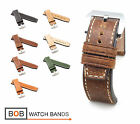 BOB Marino Vintage Calf Watch Band/Strap for Panerai, 24/24 mm, 7 colors, new!
