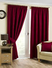 New Belvedere Curtain Tiebacks - 4 Colours - Cranberry, Mink, Pewter or Natural