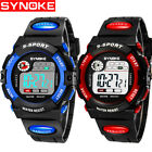 Kid Watch Waterproof Sport LED Alarm Stopwatch Digital Wristwatch for Boy Girl image