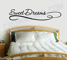 Sweet Dreams - Inspirational Quote Removable Vinyl Wall Art Quotes Decal Sticker