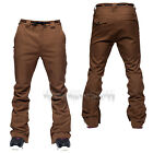 L1 Premium Goods Mens 2015 Snowboard Chocolate Stretch Twill THUNDER PANTS