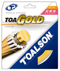 Toalson Toa Gold 1.30mm 16 Tennis Strings Set