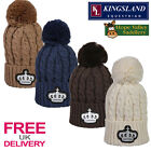 Kingsland Kilwinning Knitted Winter Bobble Hat (143-AC-710) **FREE UK DELIVERY**
