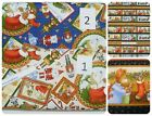 NOT A CREATURE WAS STIRRING FABRIC~3 DESIGNS~CHRISTMAS~MICE~BEARS~U-PICK~COTTON