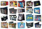 Marvel/DC Comics Bi Fold Wallet - Batman/Superman/Captain America New + Official