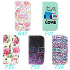Wallet New Various Design Folio Stand Leather Case Cover For Motorola Moto G