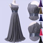 AU STOCK FAST SHIP Long Prom Bridesmaid Gown Attire Cocktail Party Evening Dress