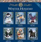 Mill Hill - Winter Holiday Ornament/Magnet - Multiple Designs to Choose From