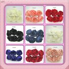 ARTIFICIAL foam Peony Roses . Various colours Weddings Shabby chic  9cm Boquets