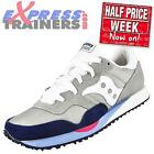 Saucony Womens DXN Trainers Retro Casual Classic Trainers Grey * AUTHENTIC *