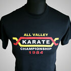 THE KARATE KID T SHIRT COBRA KAI MIYAGI WAX ON MARTIAL ARTS MMA COOL RETRO TEE