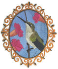 Humming Bird Collection Embroidered Iron On Patch