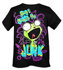 Invader Zim Gir Don't Touch My Junk Pizza Taco Screw T Shirt Top NWT A