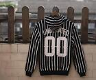 UNDERATED 00 SWAG Stripe LONDON STREET RULES Hoodie Hoody Sweatshirt Coat Jumper