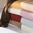 100% Cotton Ultra-Soft Dobby Striped Sheets - Assorted Colors