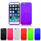 """Colorful Soft Rubber Silicone Skin Case For Apple iPhone 6 Plus 5.5"""" Inches"""