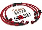 KAWASAKI ZX9R 2002-2003 REAR BRAKE CUSTOM STAINLESS BRAKE LINE KIT CORE