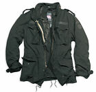 Surplus Vintage Regiment M65 Jacket Washed Classic Parka, US Field, Black